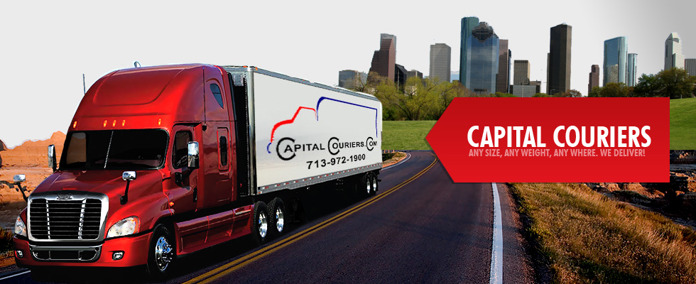 Capital Couriers - Any Size. Any Weight. Any Where. We Deliver!